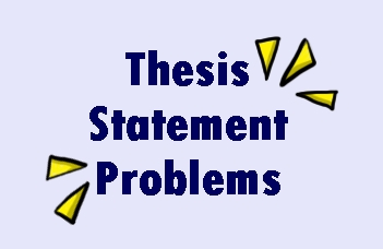 thesis statement problems