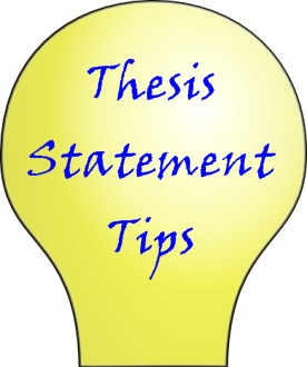 tips for writing a thesis statement You have to know the parts of a thesis statement for a research paper you how to write a thesis statement for a research paper thesis statement format (tips.