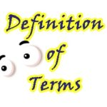 definition-of-terms